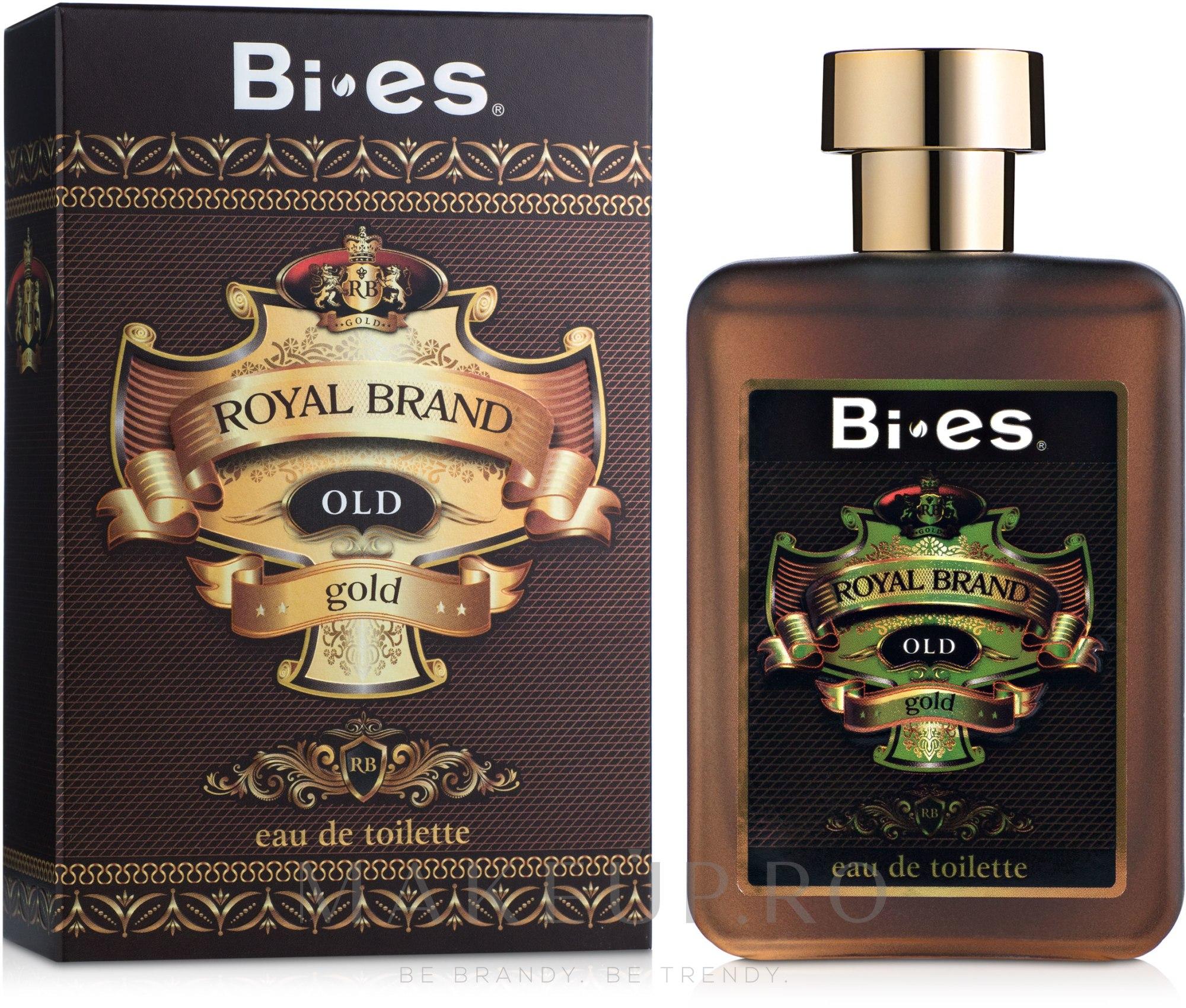 Bi-Es Royal Brand Gold - Apă de toaletă — Imagine 100 ml