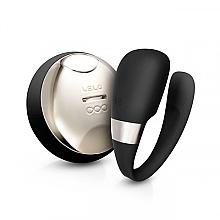 Parfumuri și produse cosmetice Vibro masajor pentru cupluri, negru - Lelo Tiani 3 Black