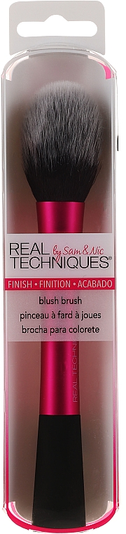 Perie pentru aplicare blush - Real Techniques Blush Brush — Imagine N1