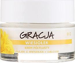 Cremă nutritivă cu ulei de primulă - Gracja Semi-oily Cream With Evening Primrose — Imagine N2