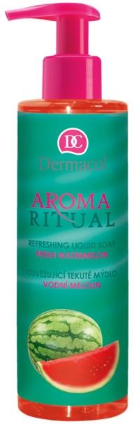 "Săpun lichid ""Pepene verde"" - Dermacol Aroma Ritual Liquid Soap Fresh Watermelon"