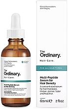 Parfumuri și produse cosmetice Ser multi-peptidic pentru îngroșarea părului - The Ordinary Multi Peptide Serum For Hair Density