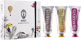 "Parfumuri și produse cosmetice Set ""Wonders of the World"" - Marvis Set (toothpaste/3x25ml)"