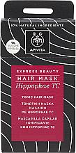 Parfumuri și produse cosmetice Mască tonifiantă cu cătină pentru păr - Apivita Tonic Hair Mask With Hippophae TC