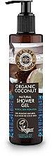Parfumuri și produse cosmetice Gel de duș - Planeta Organica Organic Coconut Natural Shower Gel