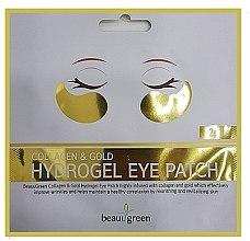 Parfumuri și produse cosmetice Patch-uri hidrogel pentru ochi - BeauuGreen Collagen & Gold