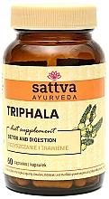 """Parfumuri și produse cosmetice Supliment """"Triphala"""", 60 capsule - Sattva Ayurveda"""