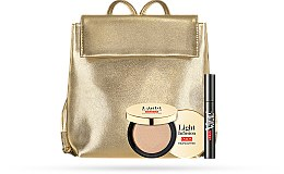 Parfumuri și produse cosmetice Set - Pupa All in One & Light Infusion 2019 (mascara 9g + highighter/4g + bag)