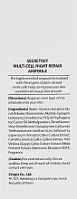 Ser de noapte - Secret Key Multi Cell Night Repair Ampoule — Imagine N3