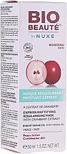 Parfumuri și produse cosmetice Mască matifiantă pentru strângerea porilor - Nuxe Bio Beaute Express Mattifying Rebalancing Mask