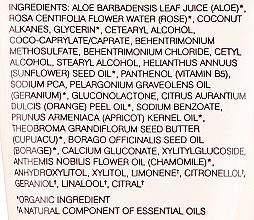 """Lapte pentru capetele uscate ale părului """"Trandafir și Caise"""" - John Masters Organics Hair Milk Rose & Apricot (mini) — Imagine N3"""