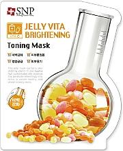Parfumuri și produse cosmetice Mască din țesătură cu vitamina C pentru față - SNP Jelly Vita Brightening Toning Mask