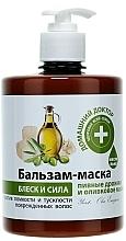 Parfumuri și produse cosmetice Balsam mască Drojdie de bere și ulei de măsline - Domashniy Doktor