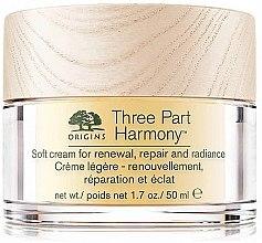 Parfumuri și produse cosmetice Cremă revitalizantă de față - Origins Three Part Harmony Soft Cream