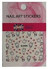 Parfumuri și produse cosmetice Abțibilduri pentru unghii - Ronney Professional Nail Art Stickers (1 buc.)