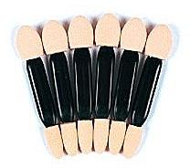 Parfumuri și produse cosmetice Set aplicatoare pentru fard de ochi, 6 buc. 35159 - Top Choice