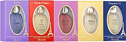 Parfumuri și produse cosmetice Charrier Parfums Pack 5 Miniatures - Set (edp/8.5ml+edp/8.5ml+edp/8.5ml+edp/10.8ml+edp/10.8ml)