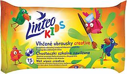 Parfumuri și produse cosmetice Șervețele umede - Linteo Kids Creative