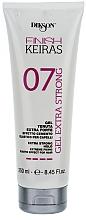 Parfumuri și produse cosmetice Gel cu fixare puternică - Dikson Finish Keiras Gel Extra Strong Effetto Cemento Elastino 07