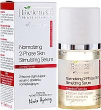 Parfumuri și produse cosmetice Ser bifazic anti-îmbătrânire pentru față - Bielenda Professional Individual Beauty Therapy Normalizing 2-Phase Skin Stimulating Serum