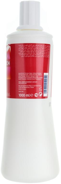 Emulsie pentru vosea de păr Color Touch - Wella Professionals Color Touch Emulsion Normal 1.9% — Imagine N4