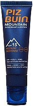 Parfumuri și produse cosmetice Cremă pentru față - Piz Buin Mountain Sun Cream Plus Lipstick SPF15