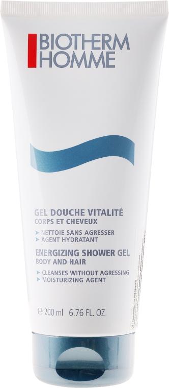 Gel-șampon pentru corp și păr - Biotherm Homme Energizing Shower Gel — Imagine N1