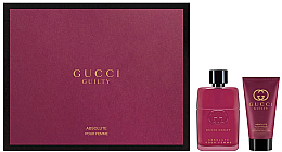 Parfumuri și produse cosmetice Gucci Guilty Absolute Pour Femme - Set (edp/50ml + b/lot/50ml)