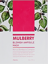 Parfumuri și produse cosmetice Mască de față - A'pieu Mulberry Blemish Ampoule Mask
