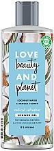 """Parfumuri și produse cosmetice Gel de duș """"Cocos și Mimoză"""" - Love Beauty&Planet Coconut Water & Mimosa Flower Shower Gel"""