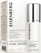 Parfumuri și produse cosmetice Cremă pentru zona ochilor - Jose Eisenberg Pure White Eye Contour Cream