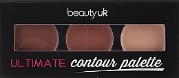 Parfumuri și produse cosmetice Paletă farduri de obraz - Beauty Uk Shimmer Box (Bronze)