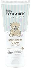 Parfumuri și produse cosmetice Cremă cu zinc sub scutec - Ecolatier Baby Diaper Cream With Zinc