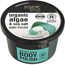 Parfumuri și produse cosmetice Scrub de corp cu alge marine - Organic Shop Body Scrub Organic Algae & Sea Salt