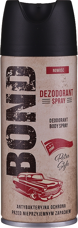Set - Bond Retro Style (deo/150ml + after shave/100ml) — Imagine N3