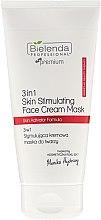 Parfumuri și produse cosmetice Mască hidratantă pentru față - Bielenda Professional Individual Beauty Therapy 3in1 Skin Stimulating Face Cream Mask