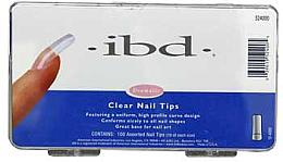 Parfumuri și produse cosmetice Tipsuri pentru unghii, incolore - IBD Clear Nail Tips