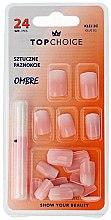 """Parfumuri și produse cosmetice Unghii false """"Ombre"""", 78002 - Top Choice"""