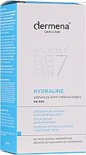 Parfumuri și produse cosmetice Cremă nutritivă de noapte pentru față - Dermena Skin Care Hydraline Night Cream