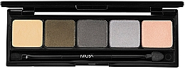 Parfumuri și produse cosmetice Paletă farduri de pleoape - NoUBA Urban Charmer Palette Eyeshadow