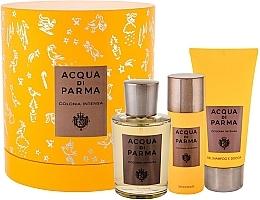 Parfumuri și produse cosmetice Acqua Di Parma Colonia Intensa - Set (edc/100ml + sh/gel/75ml + deo/50ml)