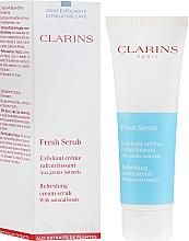 Parfumuri și produse cosmetice Scrub pentru față - Clarins Fresh Scrub