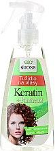 Parfumuri și produse cosmetice Spray pentru păr - Bione Cosmetics Keratin + Panthenol Liquid Hair Mousse