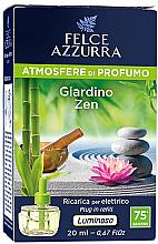 Parfumuri și produse cosmetice Difuzor aromatic, electric - Felce Azzurra Garden Zen (rezervă)