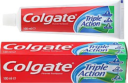 """Parfumuri și produse cosmetice Pastă de dinți """"Triple Action"""" - Colgate Triple Action Original Mint"""