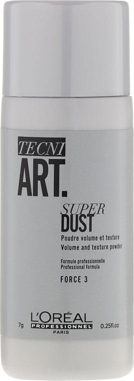 Pudră pentru păr - L'Oreal Professionnel Tecni.Art Super Dust Force 3