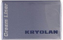 Parfumuri și produse cosmetice Tuș de ochi, impermeabil - Kryolan HD Cream Liner