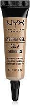 Parfumuri și produse cosmetice Gel pentru sprâncene - NYX Professional Makeup Eyebrow Gel