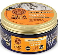 Parfumuri și produse cosmetice Mască de întărire pentru păr - Natura Siberica Tuva Siberica Uranghai Oblepikha Strengthening Hair Mask