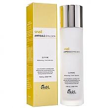 Parfumuri și produse cosmetice Emulsie hidratantă cu mucină de melc - Ekel Snail Ampoule Emulsion